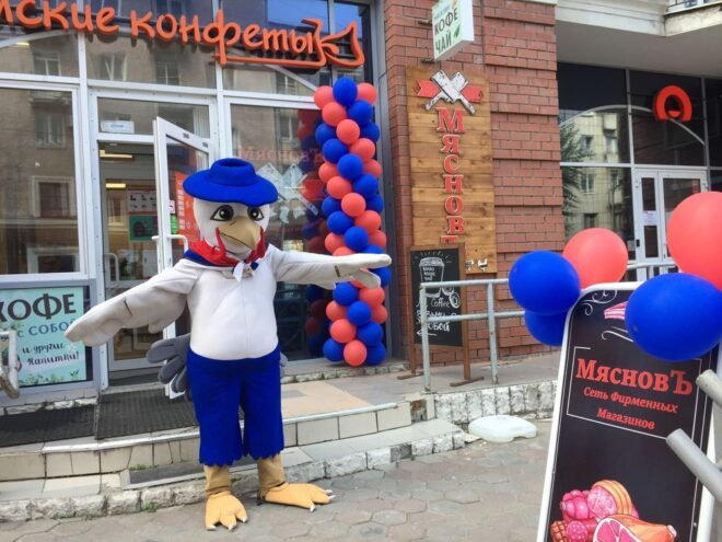 Открытие магазина Мяснов в Перми